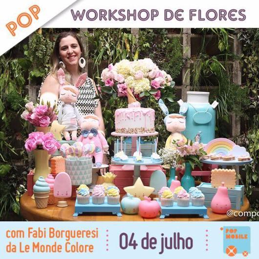 Curso Flores Pop