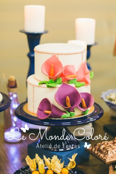 Mini Wedding Marinho e Cobre 12